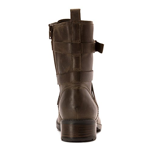 Swansea 7 Womens Khaki Mid Clarks Leather 5 Tobin Calf Boots Faw84