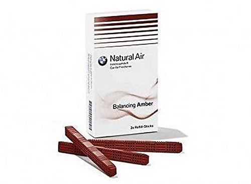 BMW Genuine Air Freshener Refill Kit For Interior Scent 'Amber'