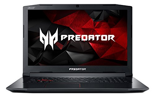 "Acer Predator Helios 300 Gaming Laptop, Intel Core i7, GeForce GTX 1060, 17.3"" Full HD, 16GB DDR4, 256GB SSD, Black, PH317-51-787B"
