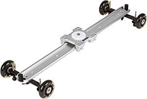 Movo SGTD-60 23-inch Linear Track Slider / Table Dolly Combo Video Rig by Movo