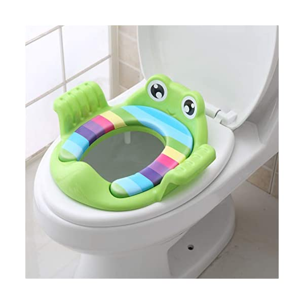 Wondrous 3 Styles Potty Training Seat For Kids Boys Girls Toddlers Toilet Seat For Baby With Cushion And Handle Baby Safe Kid Childrens Toilet Trainer Seat Creativecarmelina Interior Chair Design Creativecarmelinacom