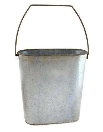e Farmhouse Rustic Galvanized Tin 9.75