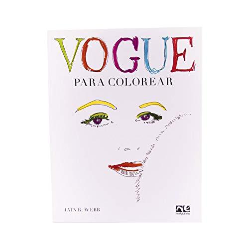 Vogue: Para colorear (ADULTOS): Amazon.es: Iain R. Webb ...