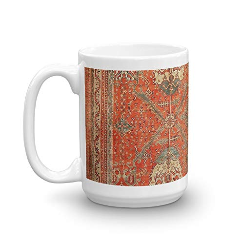 Antique Turkish Oushak Rug. 15 Oz Mugs Made Of Durable Ceramic With An Easy Grip Handle.This Coffee Mug Has A Hefty But Classic Feel