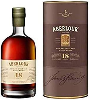 Aberlour 18 YearWhisky Escocés De Malta, (1 x 0.5 l)