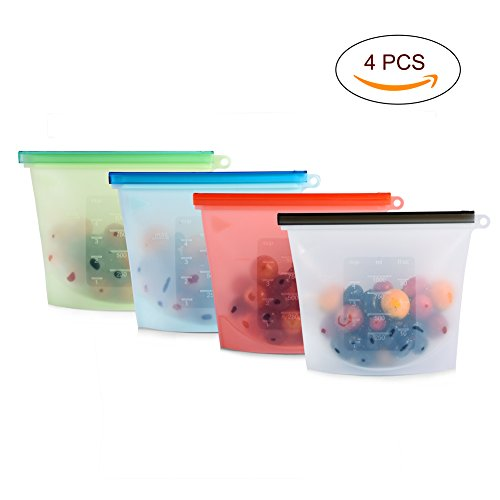 reusable freezer bags silicone - 6