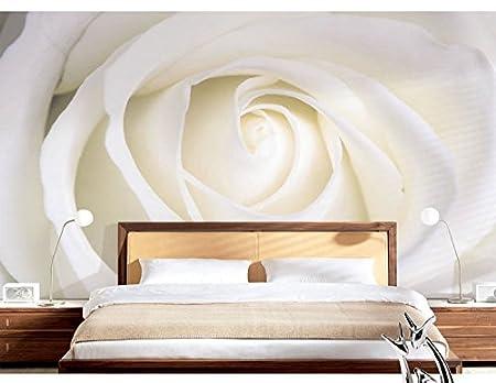 Wh Porp Rose Flower Murals 3d Wall Mural Wallpaper For Bedroom
