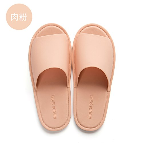 household bath men's W anti soft bottom cool 37 bathroom fankou The summer 38 home slippers slippers indoor summer slip female HOYqP8qfnw