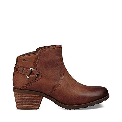 Teva Women's W Foxy Waterproof Boot, Brown, 9 M US