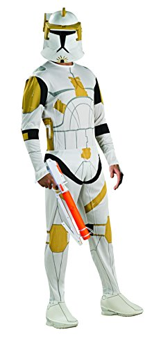 Costume Wars Commander Cody Star (Rubie's Costume Clone Trooper Commander Cody Costume, X-Large,)