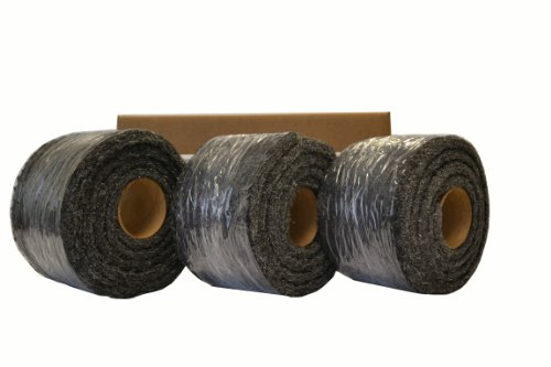 Xcluder Rodent Control Steel Wool Fill Fabric, 3 Rolls(No supplies) by Xcluder