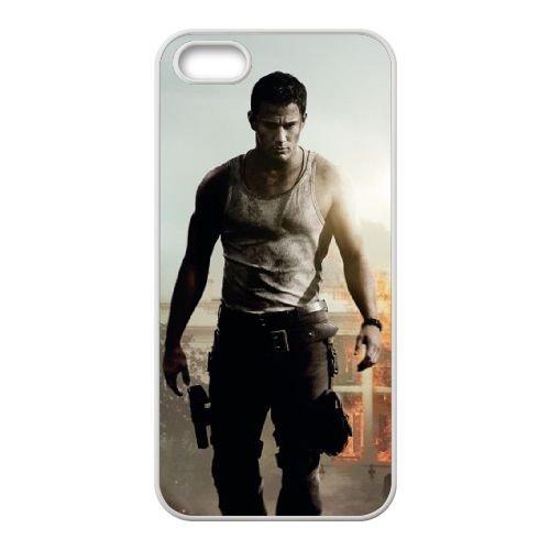 White House Down coque iPhone 4 4S cellulaire cas coque de téléphone cas blanche couverture de téléphone portable EOKXLLNCD20722
