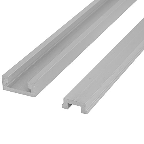 "32"" ALUMINUM MITER T-TRACK WITH MITER T- BAR by Peachtree for sale  Delivered anywhere in USA"
