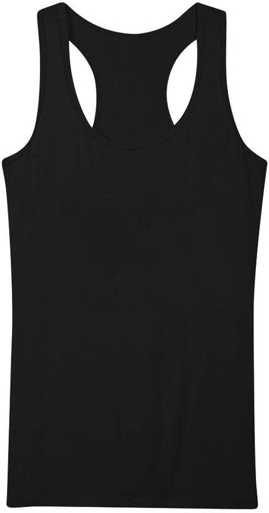 iLXHD Men Women Summer Casual Vest Sleeveless Loose Crop Tops Tank Tops Blouse Tops T-Shirt