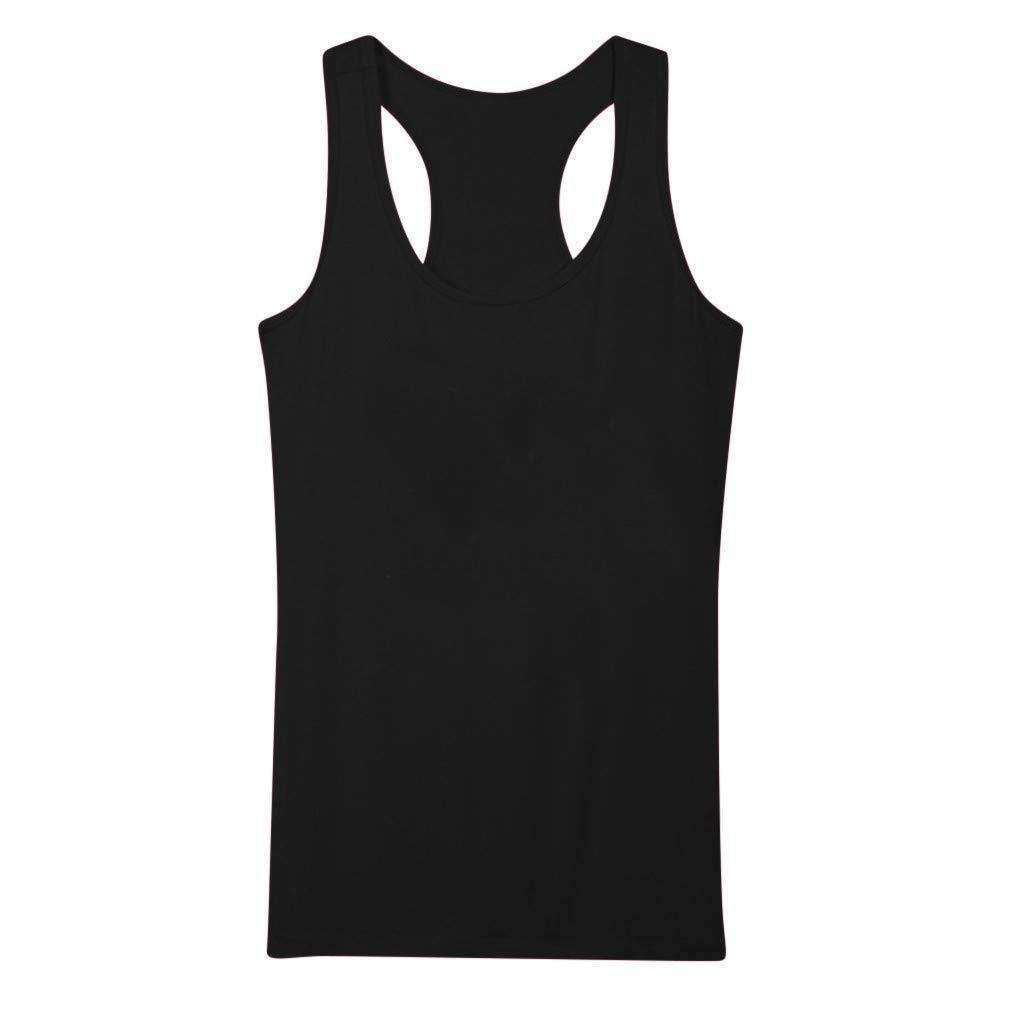 Hommes Femmes D/ébardeurs Solide Couleur Vest Top Gilet sans Manches L/âche Crop Tops D/ébardeurs Blouse Hauts T-Shirt Blanc Noir Classic Vest S-XXXL