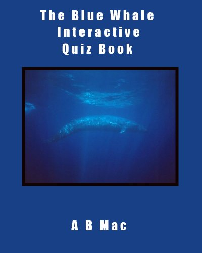 The Blue Whale Interactive Quiz Book (Book Interactive Whale)