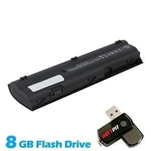 Battpit Bateria de repuesto para portátiles HP MINI 110-3865sk (4400mah) Con memoria USB de 8GB GRATUITA