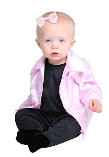 Grease Pink Ladies Infant Costume 6/9 -