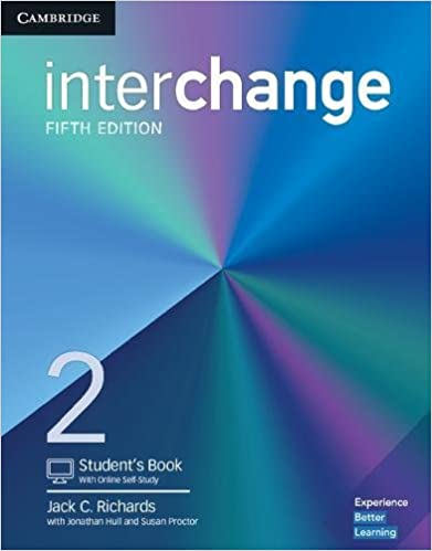 Amazon interchange level 2 students book with online self interchange level 2 students book with online self study 5th edition fandeluxe Gallery