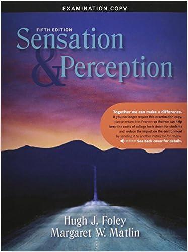 Amazon sensation and perception 9780205580347 hugh foley sensation and perception 5th edition fandeluxe Image collections