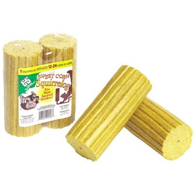 Squirrelog Corn Refill - 32 oz. Sweet Corn Squirrelog Refill (Pack of 2) [Set of 12]