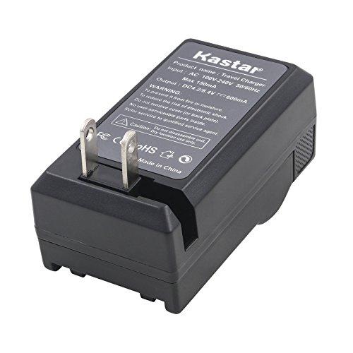 Kastar Battery Charger for JVC BN-VF707 BN-VF707U BN-VF714 BN-VF714U GR-X5 GR-X5AC GR-X5E GR-X5US + car plug