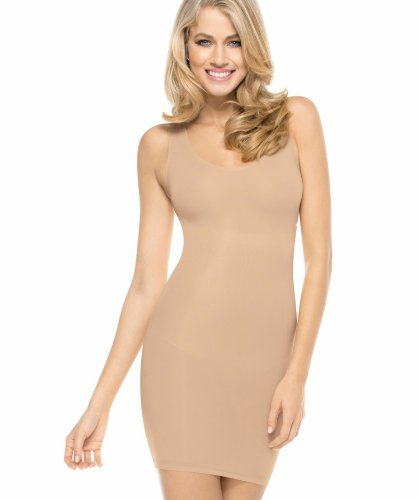 MAIDENFORM FLEXEES Firm Control Shaping Full Slip (X-Large, Latte Lift) -