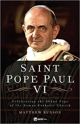 saint pope paul vi celebrating the 262nd pope of the roman catholic