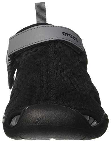 Crocs Dames Swiftwater Sandaal Zwart