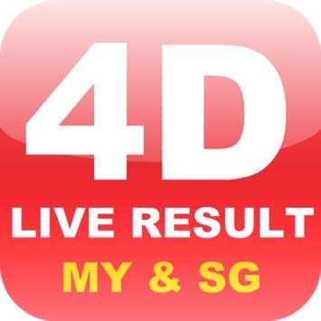 4d result live