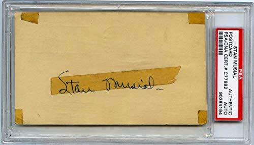 Stan Musial Autographed Signed Gpc Government Postcard 1948 PSA/DNA Autograph Cardinals Hof