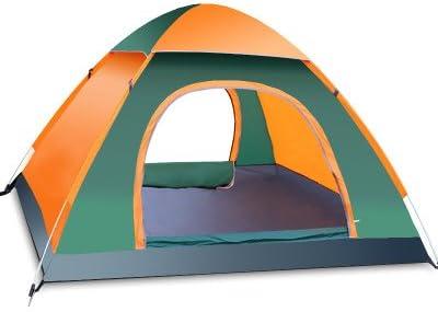 FITFIRST Tienda de Campaña para 3-4 Personas A Prueba de UV/Viento Fuerte/Lluvia con Bolsa Fácil Montaje para Aire Libre, Camping, Playa, Aventura, ...