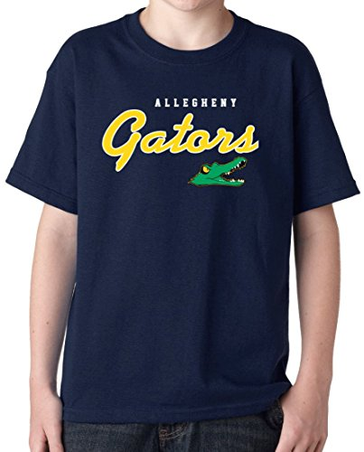 J2 Sport Allegheny Gators NCAA Machine Script Logo Youth (Alligator Youth T-shirt)
