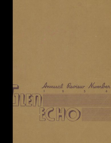 Reprint  1936 Yearbook  Codorus High School  Glenville  Pennsylvania