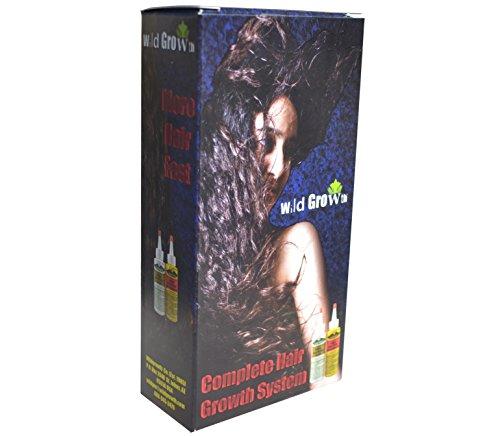 Système de soins de cheveux croissance sauvage