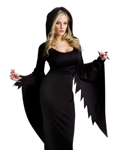 Black Dress Halloween Costume Ideas (Hooded Gown (Small / Medium))