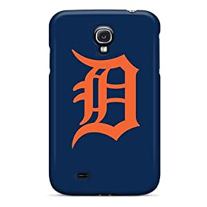 Hot Fashion HkC8206GVFx Design Cases Covers For Galaxy S4 Protective Cases (baseball Detroit Tigers 1)