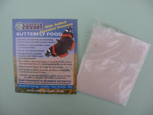 Butterfly Food 1 sachet Wildlife World