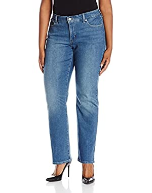Plus Size 414 Relaxed Straight Leg Jeans