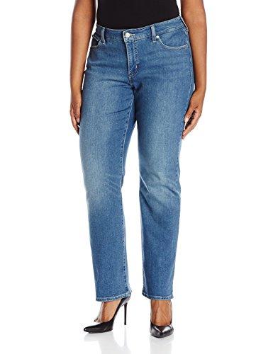 Levi's Women's Plus Size 414 Classic Straight Jeans I, Northwest Sky, 40 (US 20) - Plus Levis Size Jeans