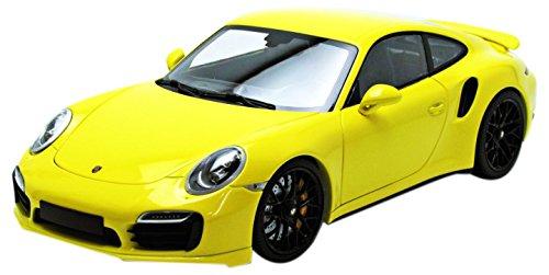 1/18 ポルシェ 911 ターボ S 991 2013(イエロー×ブラックホイール) 110062321
