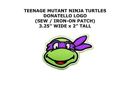 Donatello Tmnt Costume Diy (Donatello Teenage Mutant Ninja Turtles DIY Embroidered Sew or Iron-on Applique Patch Outlander Gear)
