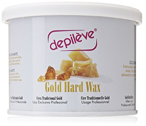 Gold Hard Wax (Depileve European Gold Hard Wax, 14 Ounce)