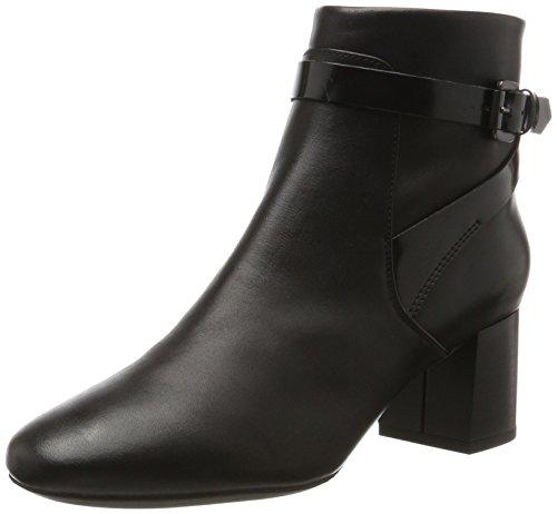 Geox Audalies Mid B, Bottes Femme Noir (Black)