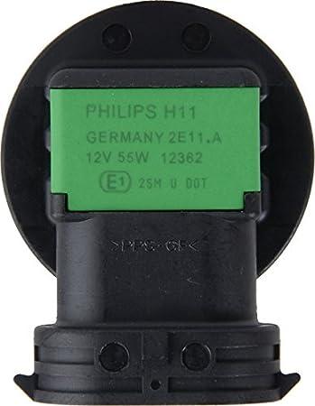 2 Pack 12972B2 Philips H7 Standard Halogen Replacement Headlight Bulb