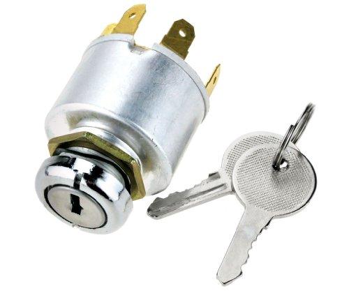 12V Universal Ignition Key Switch Barrel Kit Car/Motorbike/Boat: