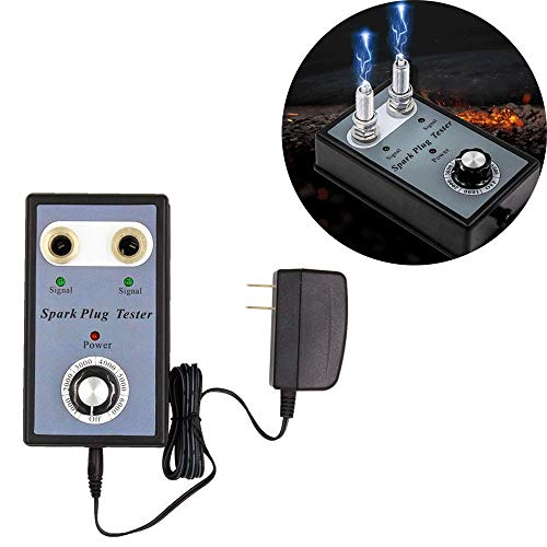ZZKJTYMZZKJ Ignition Spark Plug,Spark Plug Detector,Car Spark Plug Tester, Spark Plug, Ignition Tester, Ignition System Tester, Car, Motorcycle, Fast And Accurate Fault Finding: Amazon.co.uk: Garden & Outdoors