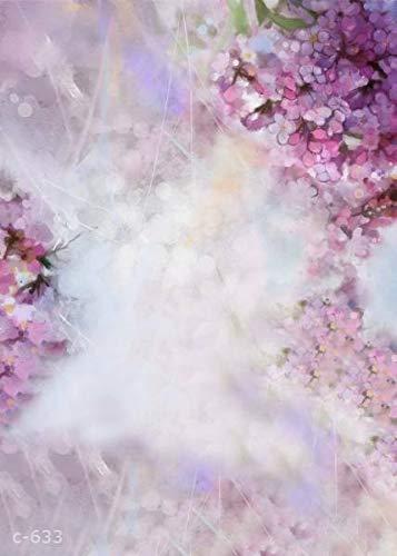 (FidgetGear Wedding Photography Background Romantic Flowers Wall Photo Props Backdrop 5x7ft Dreamy Hydrangeas )