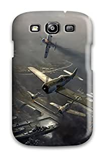 New Style Excellent Design Planes Military Case Cover For Galaxy S3