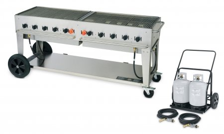 Gas Grill w/Cart, LP, BtuH 159000